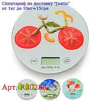 Весы кухонные электронные 0 ~ 5 кг d20 * 1, 9см R30288