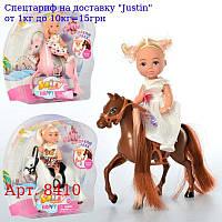 Лялька DEFA 8410 10, 5 см,  конячка,  3віда,  на аркуші,  18-19-6см