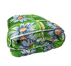 Ковдра двуспальна Євро 200х215см|Овеча шерсть|Лері&Макс|Одеяло на овчине