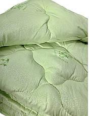 Ковдра двуспальна 180х210см Ковдра Bamboo/Одеяло бамбук Лері&Макс/Ковдра бамбук / Ковдра стьобана, фото 3