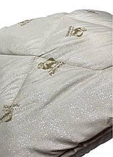Ковдра двуспальна Євро 200х215см|Pure Wool/Овеча шерсть|Лері&Макс|Ковдру на овчині, фото 2