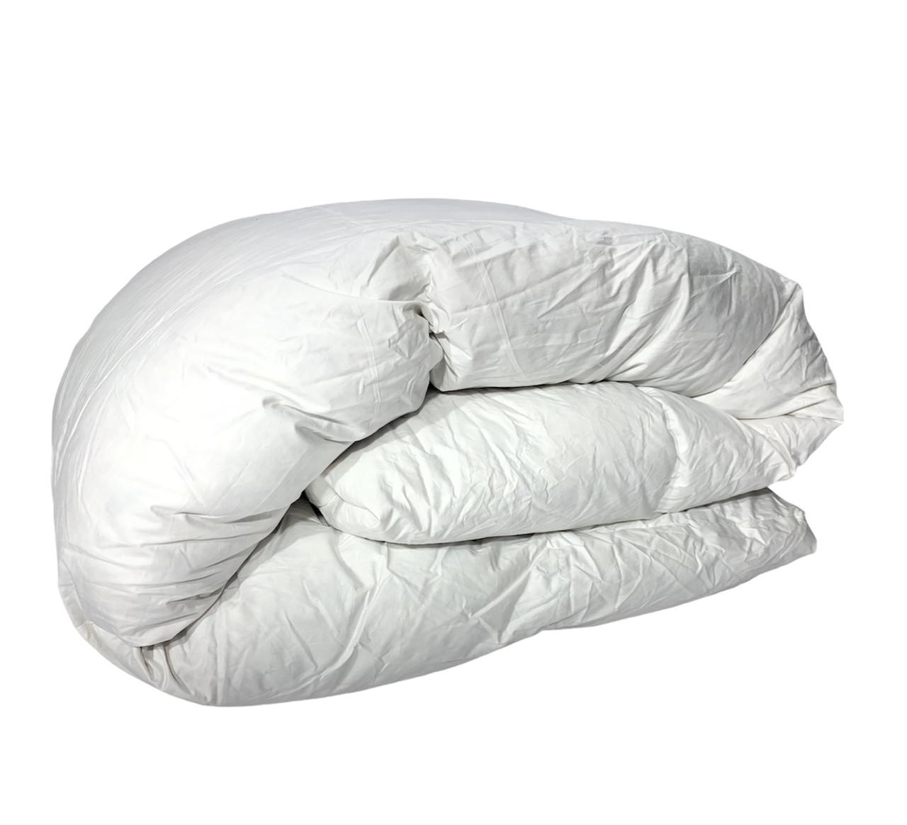 Ковдра  полуторна 155х210см| 50% пух,50% перо|Одеяло пуховое