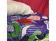 Ковдра двуспальна Євро 200х215см Відкрите хутро Овеча шерсть Лері&Макс Ковдру на овчині, фото 5