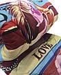 Ковдра полуторна 150х210см|Овеча шерсть|Лері&Макс|Ковдру на овчині, фото 3