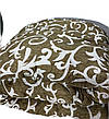 Ковдра двуспальна Євро 200х215см|Овеча шерсть|Лері&Макс|Ковдру на овчині, фото 2