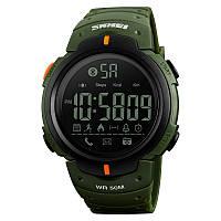 Уценка!!! Skmei 1301 зеленые мужские спортивные часы, фото 1