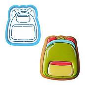Рюкзак вырубка с трафаретом 8*6,7 см (TR-2)