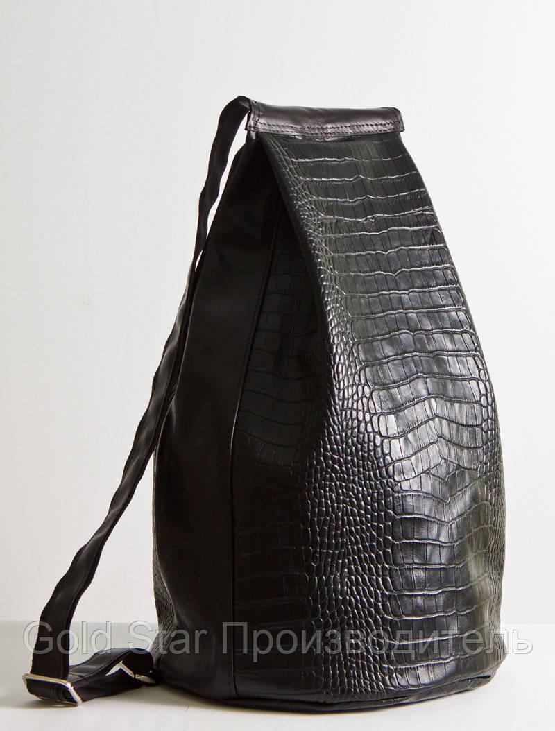 4a0216e57a99 Кожаный рюкзак черного цвета под рептилию: продажа, цена в Ивано ...