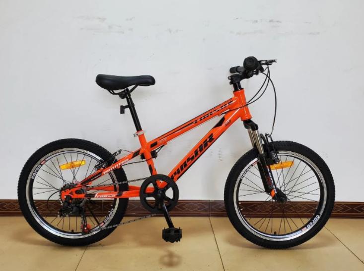 Спортивний велосипед Corso «Pulsar» 74782 колеса 20 дюймів Shinemax 7 швидкостей помаранчевий