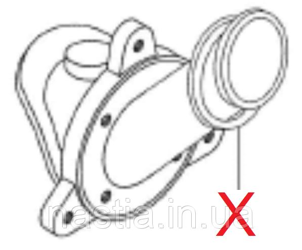 AS073 Ущільнювач тефлоновий(на теплообмінник), Astoria