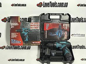 Шуруповерт аккумуляторный Світязь СШЛ 1216-2Б2