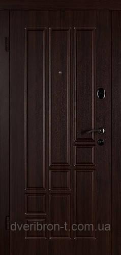 Входная дверь Титан 880 тёмный орех
