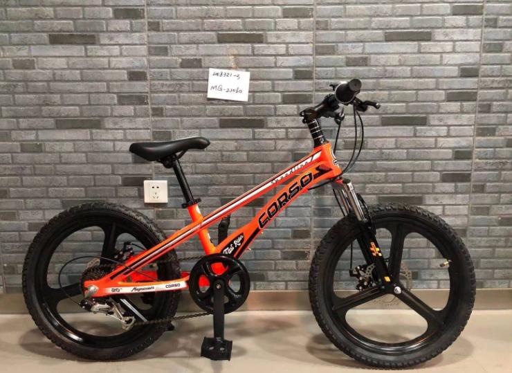Детский спортивный магниевый велосипед Corso «Speedline» MG-21060 20д магн.литые диски Shimano RevoShift 7 ск.
