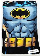 Детский плед. Флисовый плед. Плед для мальчика Batman 100/150 см. Детское покрывало для мальчиков Бэтмен.