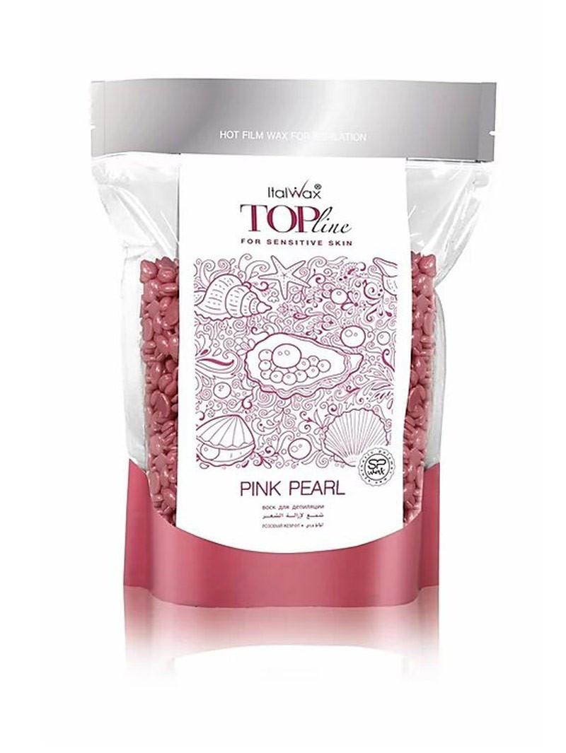 Гарячий віск в гранулах Italwax ТОП ФОРМУЛА - Рожева Перлина, 750 г.