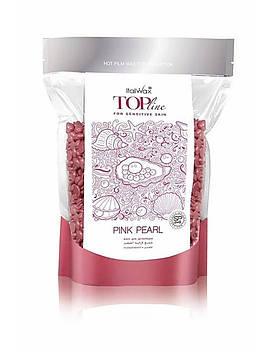 Горячий воск в гранулах Italwax ТОП ФОРМУЛА - Розовый жемчуг, 750 г.