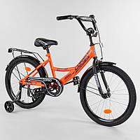 Велосипед детский для мальчика девочки 5 6 7 лет колеса 18 дюймов Corso CL-18412, фото 1