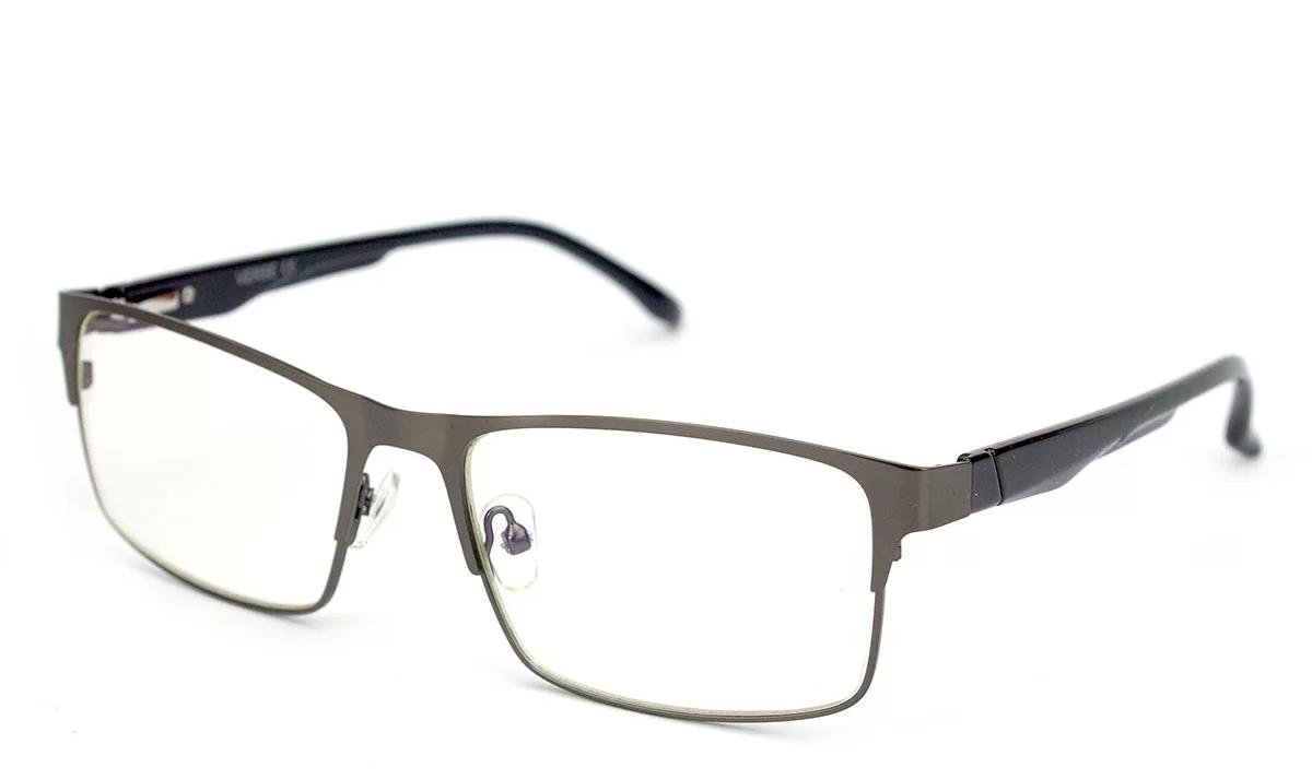 Очки для компьютера Blue Blocker из металла, очки компьютерные, в стальной оправе, мужские, Verse