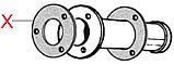 C050 Ущільнювач(на фланцеве з'єднання єднання), h=3mm, Cimbali, фото 2