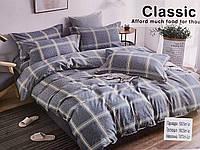 Полуторный комплект постельного белья Koloco Classic ткань Фланель (Байка)