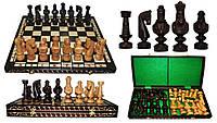 Шахматы 3103 SMALL CEZAR, коричневые 59x29.5x6см (король-140мм)