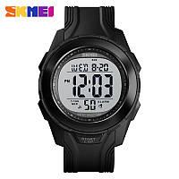 Уценка!!!  Skmei 1503 черные мужские спортивные часы, фото 1