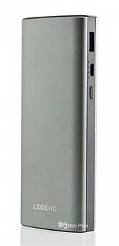 Внешний акумулятор Power bank UKC 30000 mAh c фонариком и экраном White