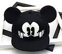 Детская кепка снепбек с ушками Микки Маус (Mickey Mouse) Disney с прямым козырьком Красная 2, Унисекс, фото 5