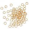 Соединительные колечки (кольца) Золотые 5 мм 100 гр/2450 шт