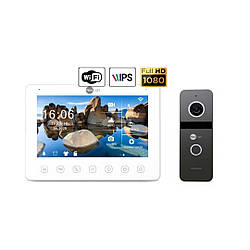 Комплект видеодомофона NeoLight NeoKIT HD+ WiFi Graphite