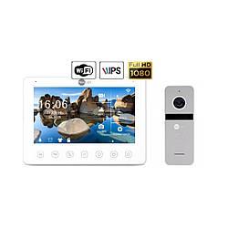 Комплект видеодомофона NeoLight NeoKIT HD+ WiFi Silver