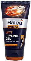 Гель для волос DM Balea Men Matt styling gel 150г.