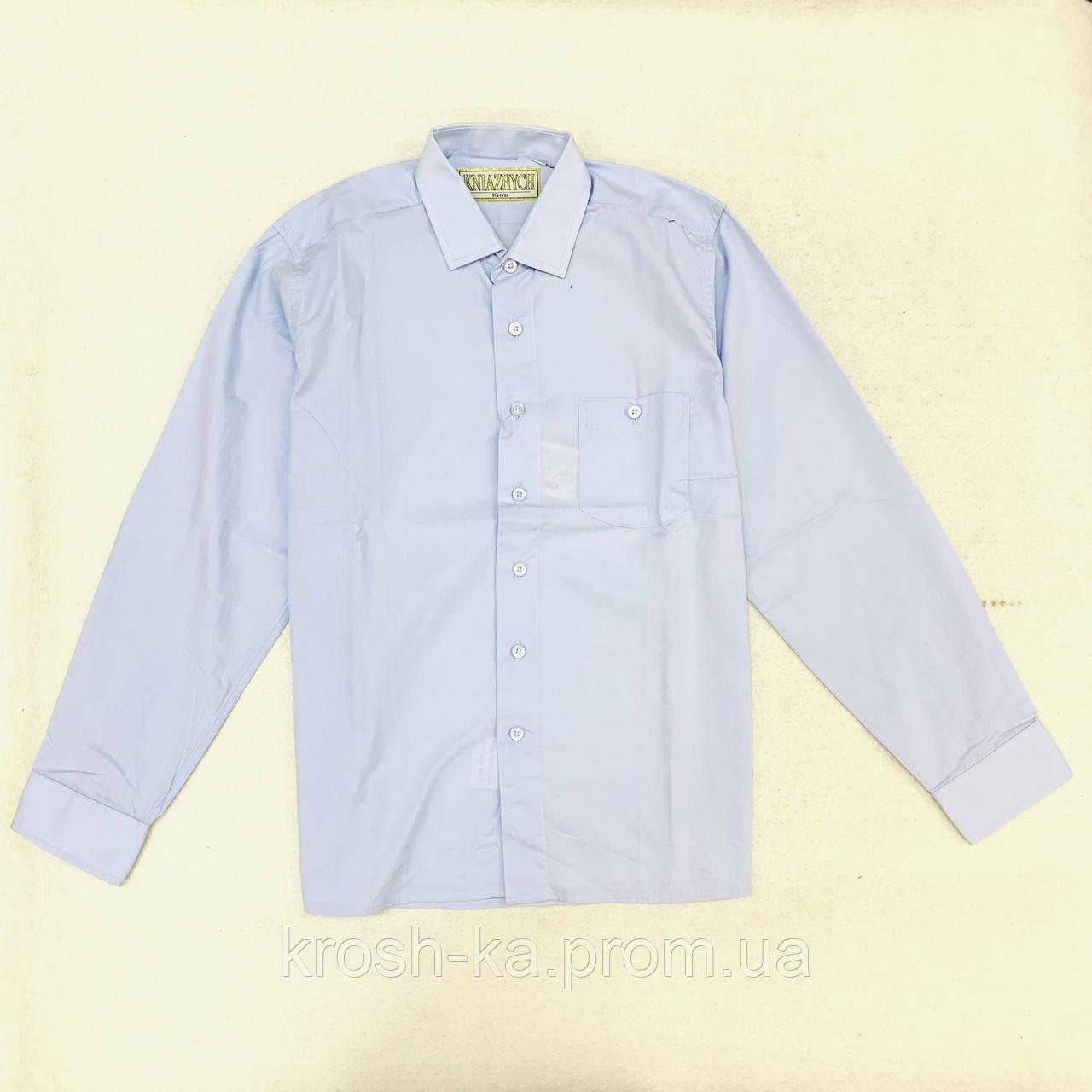 "Сорочка для хлопчика ""Княжичі"" Україна блакитний Dream BLUE"