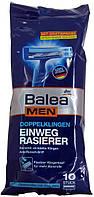 Станок для бритья одноразовый мужской DM Balea 2-Klingen Einwegrasierer 10st.