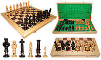 Шахматы 310405 ROYAL, дубовые 62x31.5x7см (король-125мм)