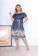 """Сукня жіноча Розміри: 50-52,54-56 """"LARA-2"""" недорого від прямого постачальника idm950396"""