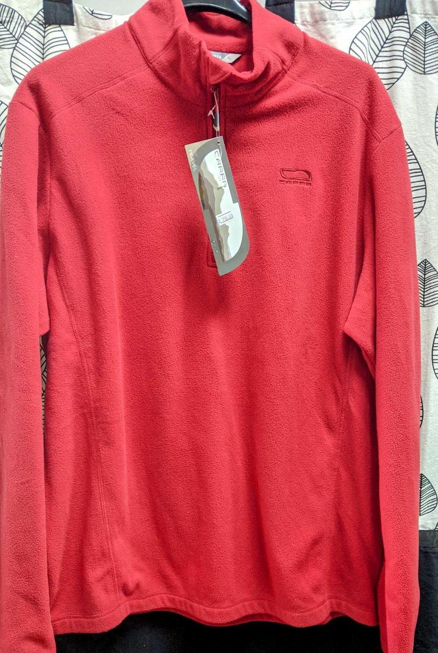 Кофта флісова чол Carra OLIVER, червоний (XL)