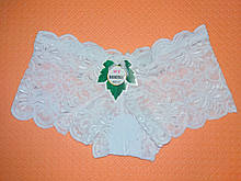 Женские кружевные трусики-шортики Lormengsi р.44 Белый hub5qhyzq, КОД: 1879201