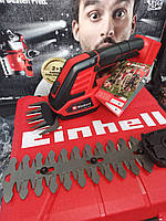 Акумуляторні ножиці кущоріз для трави Einhell GE-CG 18/100 Li Solo [3410313]