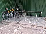Велопарковка Graceful з нержавійки на 7 велосипедів, фото 2
