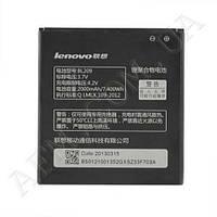 АКБ оригинал Lenovo BL209 A706/  A788T/  A820E/  A760/  A516/  A378T/  A398T 2000mAh