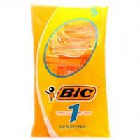 Бритвы Одноразовые станки для бритья  BIC 1 Sensitive 5шт