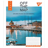 Набор тетрадей 5 штук YES Off the map,в клетку 60 листов 765558, фото 1