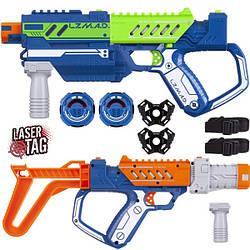 Дитяче лазерна зброя, делюкс набір (2 бластера, 2 мішені, модулі), Silverlit Lazer M. A. D