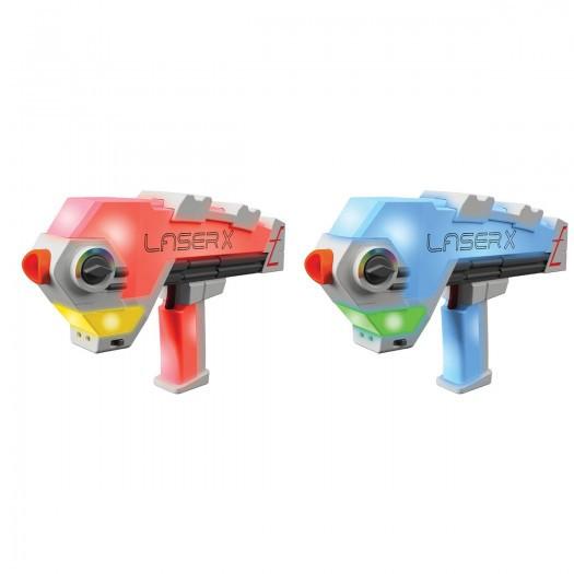 Лазертаг іграшка - бластери для двох гравців, Laser X Evolution