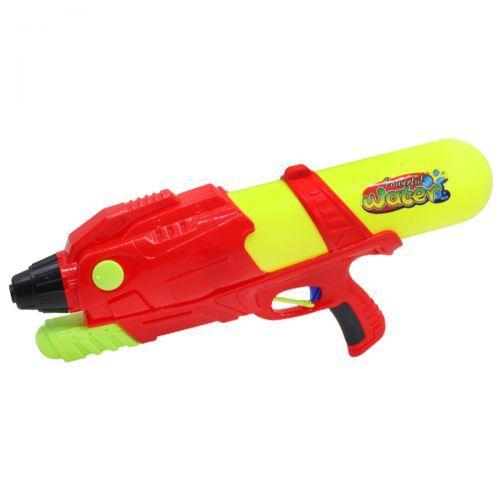 Игрушка водный пистолет с баком, красный