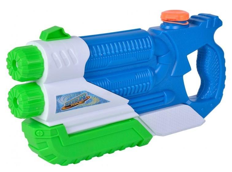 Водний бластер для дітей з помпою, Подвійний, 36 см, Simba