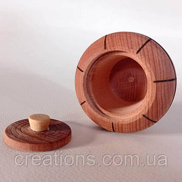 Дерев'яний бочонок для спецій