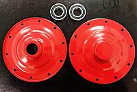 Фланцы тарелки на бетономешалку 23 см 125 140 160 180 л пара 2 шт + подшипники 6206 2 шт