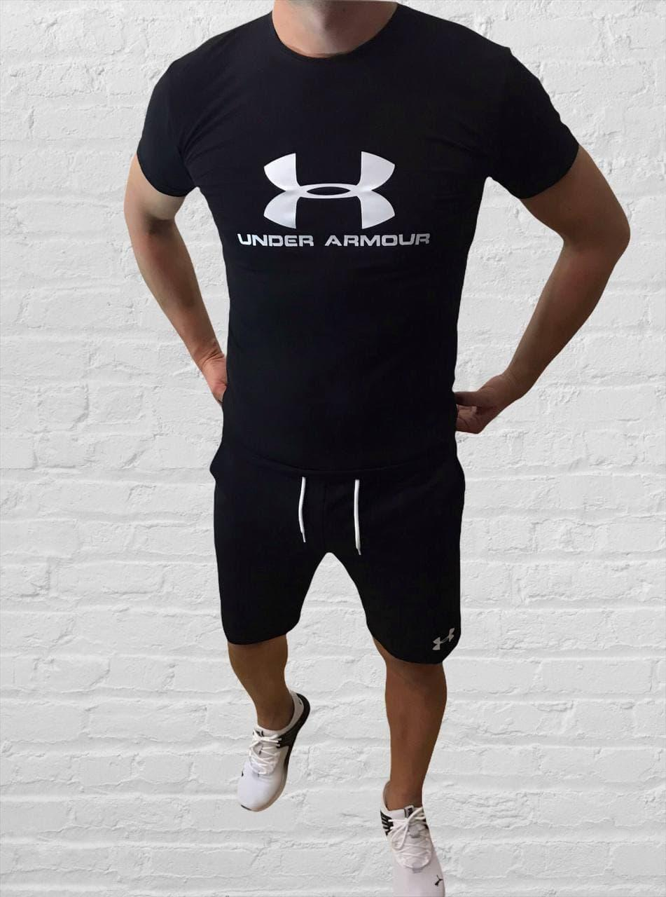 Мужской спортивный костюм (футболка и шорты) Under Armour